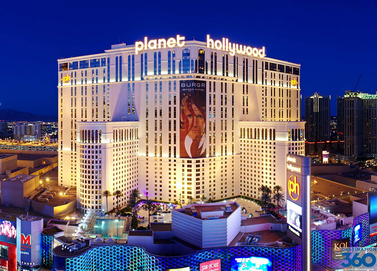 Planet hollywood resort and casino deals state line casino finder