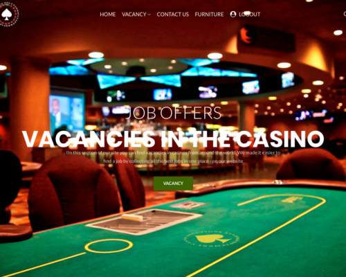 casino vacancy offer