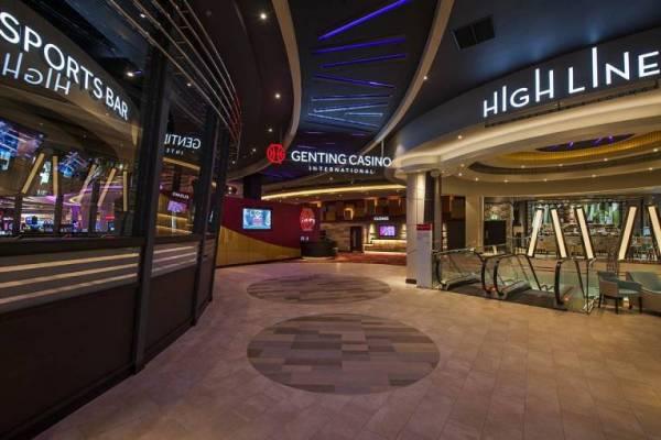 genting international casino entrance